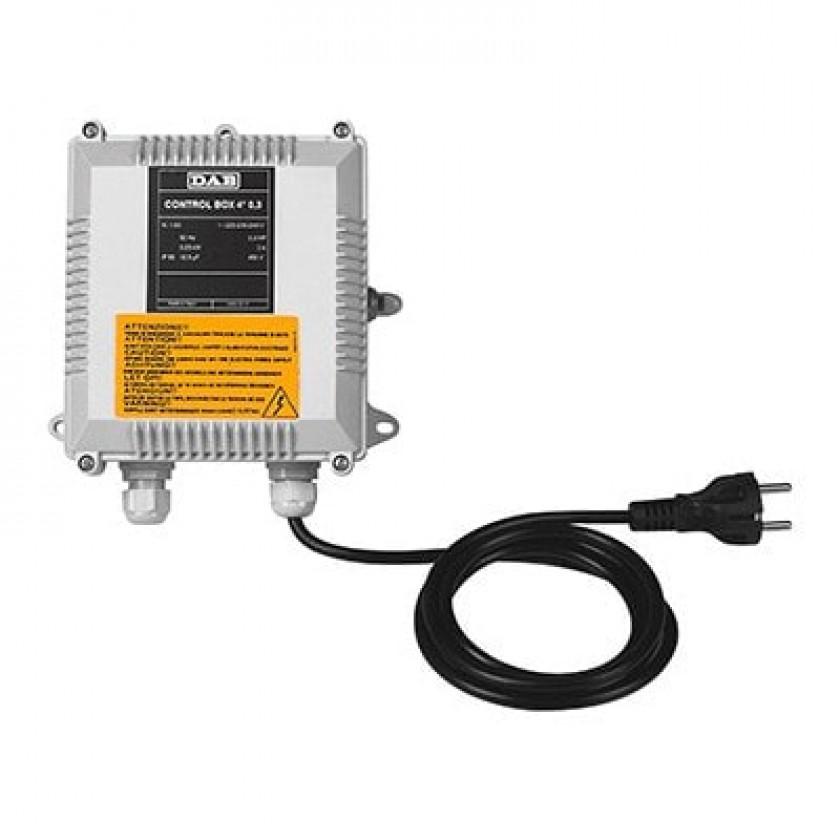 "CONTROL BOX 4"" 1 (0,75 Kw) 108003270 в фирменном магазине Dab"